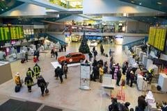 Vilnius flygplats Arkivbild