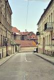 Vilnius gammal Town Royaltyfria Foton