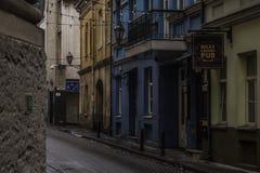 Vilnius gata Royaltyfri Foto