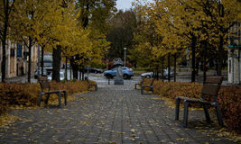Vilnius gata Fotografering för Bildbyråer