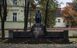 Vilnius gata Royaltyfria Foton
