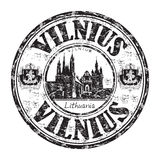 Vilnius grunge rubber stamp Royalty Free Stock Image