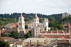 Vilnius Holy Spirit Orthodox Church. And Monastery Stock Images