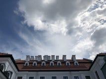 vilnius Huvudstaden av Litauen royaltyfri fotografi