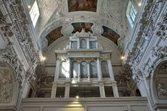 Vilnius - igreja do Sts Peter e Paul Fotografia de Stock Royalty Free