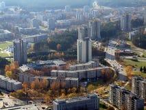 Vilnius - il capitale della Lituania. Fotografia Stock Libera da Diritti
