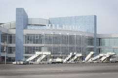 Vilnius International airport Stock Photos