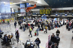 Vilnius International airport royalty free stock photos