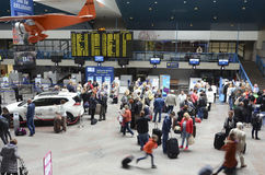 Vilnius International airport stock photo