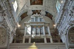 Vilnius - Kerk van Sts Peter en Paul royalty-vrije stock fotografie