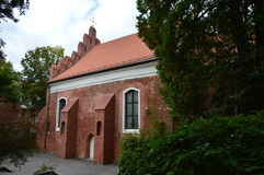 Vilnius-Kirche stockfotografie