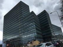 Vilnius kontorsbyggnad Arkivbilder