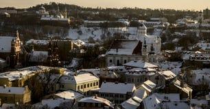 Vilnius krajobraz Zdjęcie Stock