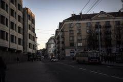 Vilnius krajobraz Zdjęcia Stock
