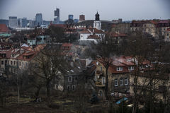 Vilnius landskap Royaltyfri Fotografi