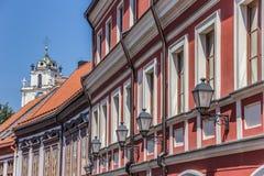 Vilnius lanterns royalty free stock image