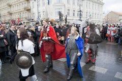 VILNIUS- LE 5 MARS 2011 Photographie stock libre de droits
