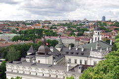 Vilnius Litauen Arkivbilder