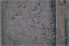 vilnius litauen Die historische Platte Stockbild