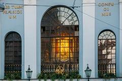 Vilnius Litauen Kapelle im Tor von Dawn With Icon Of Our-Dame Stockfotos