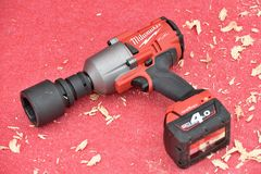 Milwaukee power tool Stock Photography