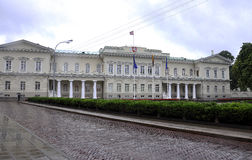 Vilnius,Lithuania-august 24-Parliament Palace of Lithuania in Vilnius Royalty Free Stock Image