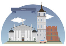Vilnius, Lithuania. Vilnius, capital of Lithuania and its largest city