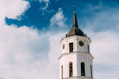 Vilnius Lithuania. Cathedral Basilica Of St. Stanislaus St. Vlad Royalty Free Stock Photo