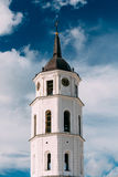 Vilnius Lithuania. Cathedral Basilica Of St. Stanislaus St. Vlad Stock Image