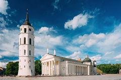 Vilnius Lithuania. Cathedral Basilica Of St. Stanislaus St. Vlad Royalty Free Stock Photos