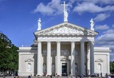 Vilnius, lithuania, europe, cathedral Stock Photo