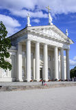 Vilnius, lithuania, europe, cathedral Stock Photography
