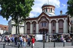 Vilnius, lithuania, europe, a foreshortening Royalty Free Stock Photos