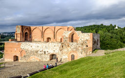 Vilnius, lithuania, europe, the old fortress Royalty Free Stock Image