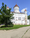 Vilnius, lithuania, europe, the orthodox cathedral Royalty Free Stock Photo