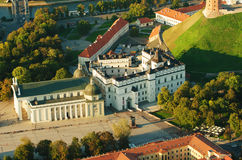 Vilnius, Lithuania. Gothic Upper Castle. Cathedral And Palace Of The Grand Dukes Of Lithuania. Royalty Free Stock Images