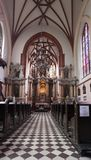 Interior of the St Anne Church Royalty Free Stock Images