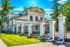 Vilnius, Lithuania: The Memorial Complex of the Tuskulenai Peace Park, where the victims of soviet NKVD-KGB repressions are buried. Vilnius, Lithuania: The Royalty Free Stock Images