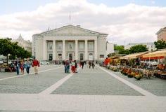 Vilnius, Lithuania Town Hall Royalty Free Stock Photos