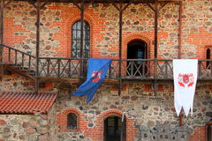 Vilnius, Lithuania. Trakai Castle Stock Images