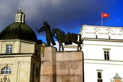 Vilnius. Lithuania travel enjoying nice city landscapes and architecture details royalty free stock photos