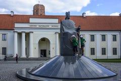 Vilnius, Lithuanie, l'Europe, le nouvel arsenal Photographie stock libre de droits