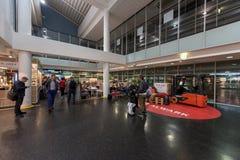 VILNIUS, LITHUANIE - 17 OCTOBRE 2017 : Aéroport international de Vilnius en Lithuanie Photo stock