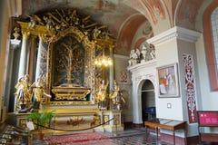 Vilnius, Litouwen - Mei 05, 2017: binnenland de kapel van St Johns Kerk, Vilnius royalty-vrije stock afbeeldingen