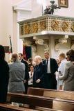 Vilnius, Litouwen Voorzitter van en van Litouwen Dalia Grybauskaite Stock Foto's