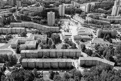 Vilnius, Lituânia - 19 de julho de 2016: Vista aérea de Vilnius Imagem de Stock Royalty Free