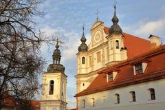 VILNIUS, LITUÂNIA: Museu da herança da igreja fotos de stock