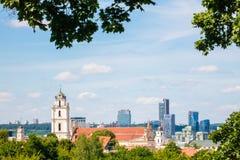Vilnius, Lituania Immagine Stock