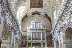 Vilnius, Lituania, Europa, chiesa St Peter e Paul Immagini Stock Libere da Diritti