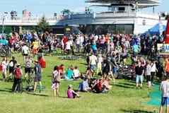 Vilnius miasta wydarzenia sportowego Vilnius otwarty wyzwanie obraz stock